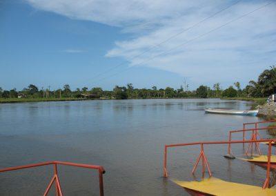 Tortuguero canal cruise dock