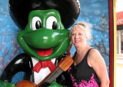 Joyce and SR Froggie