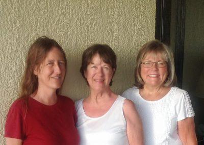 Jessie, Carolyn and Jennie